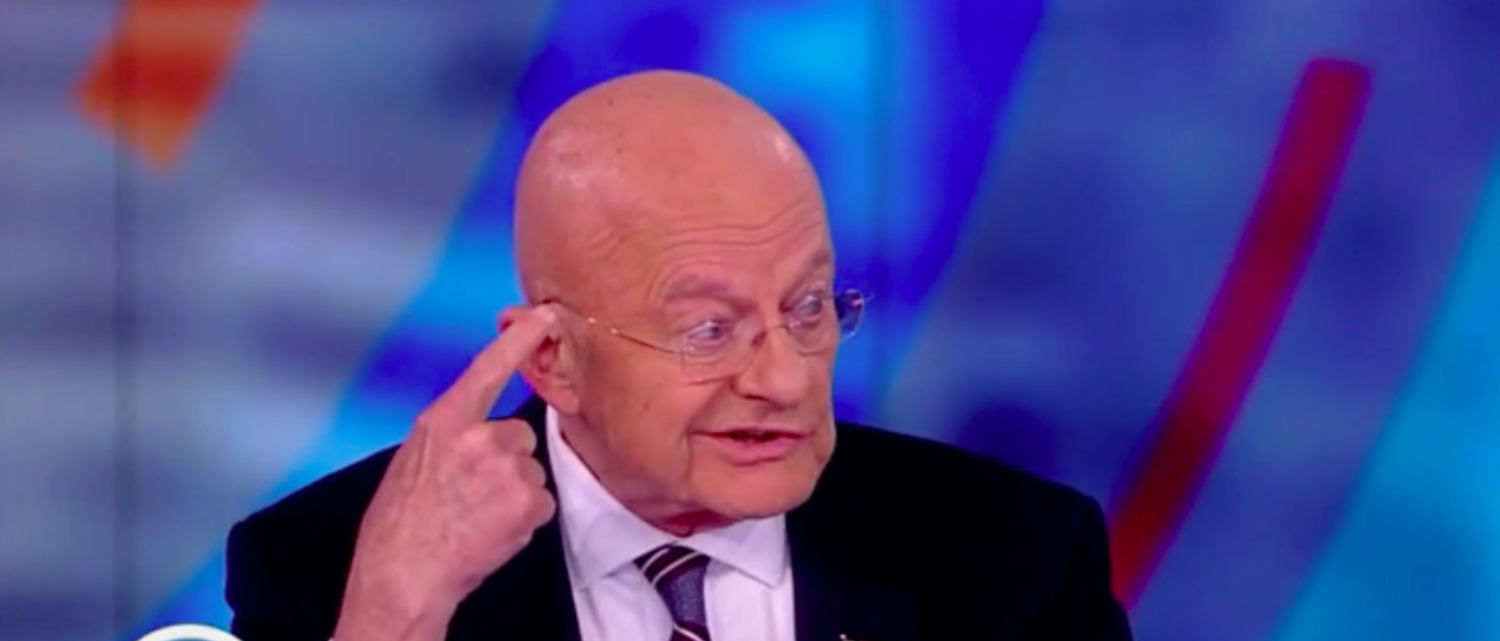 Former DNI James Clapper gives his excuse as to why he lied to the Senate Intelligence Committee. ABC/Screenshot