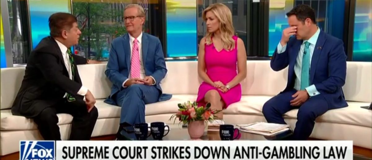 Judge Napolitano Explains How Sports Betting Ruling May Help Sanctuary Cities - Fox & Friends 5-15-18
