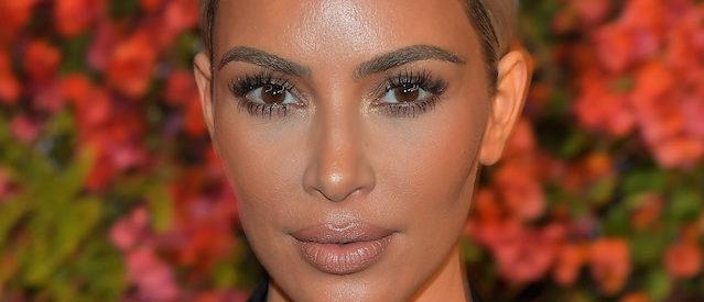 MALIBU, CA - NOVEMBER 15:  Kim Kardashian attends Bumble Bizz Los Angeles Launch Dinner At Nobu Malibu at Nobu Malibu on November 15, 2017 in Malibu, California.  (Photo by Charley Gallay/Getty Images for Bumble)