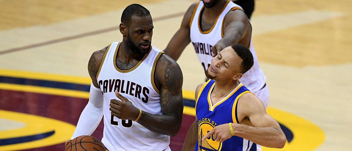 LeBron James Steph Curry e