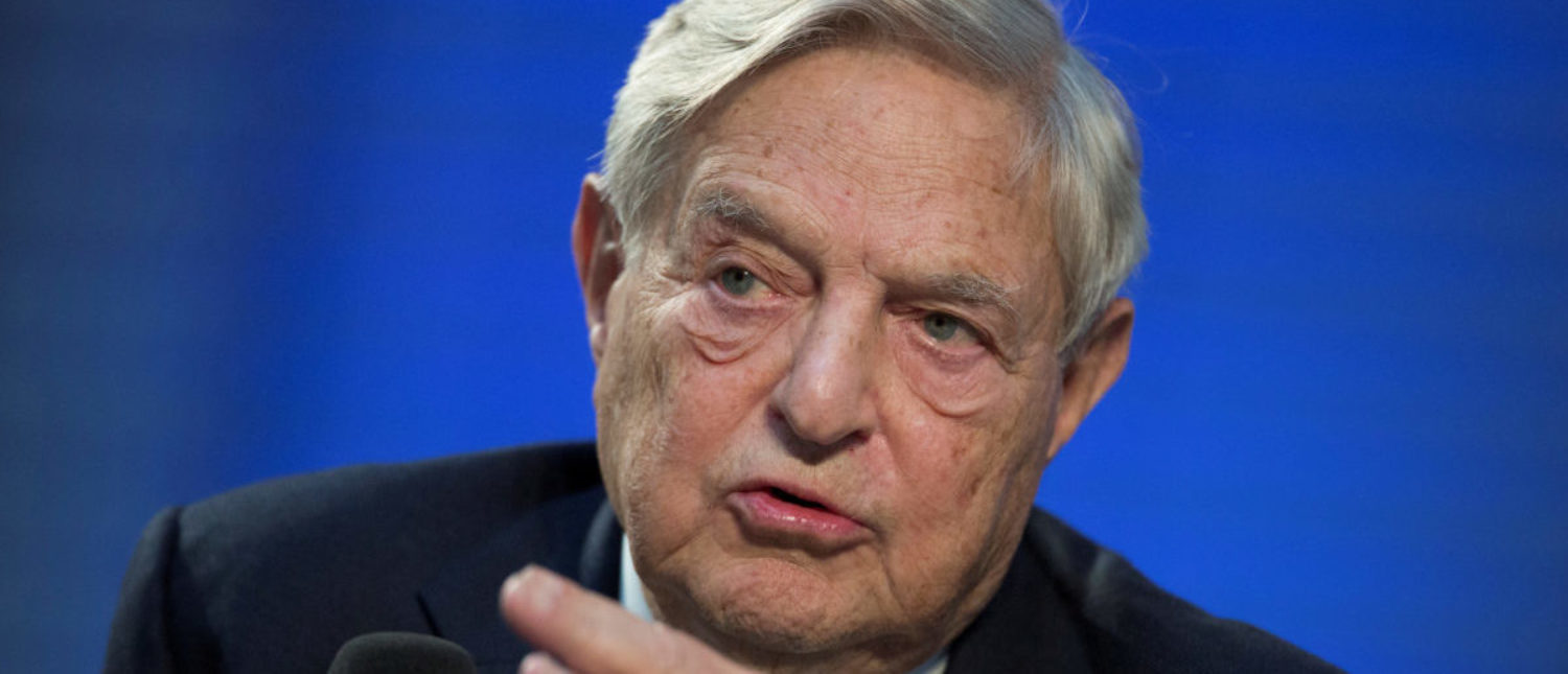 Pictured is billionaire George Soros. (Photo: REUTERS/Thomas Peter/File Photo)