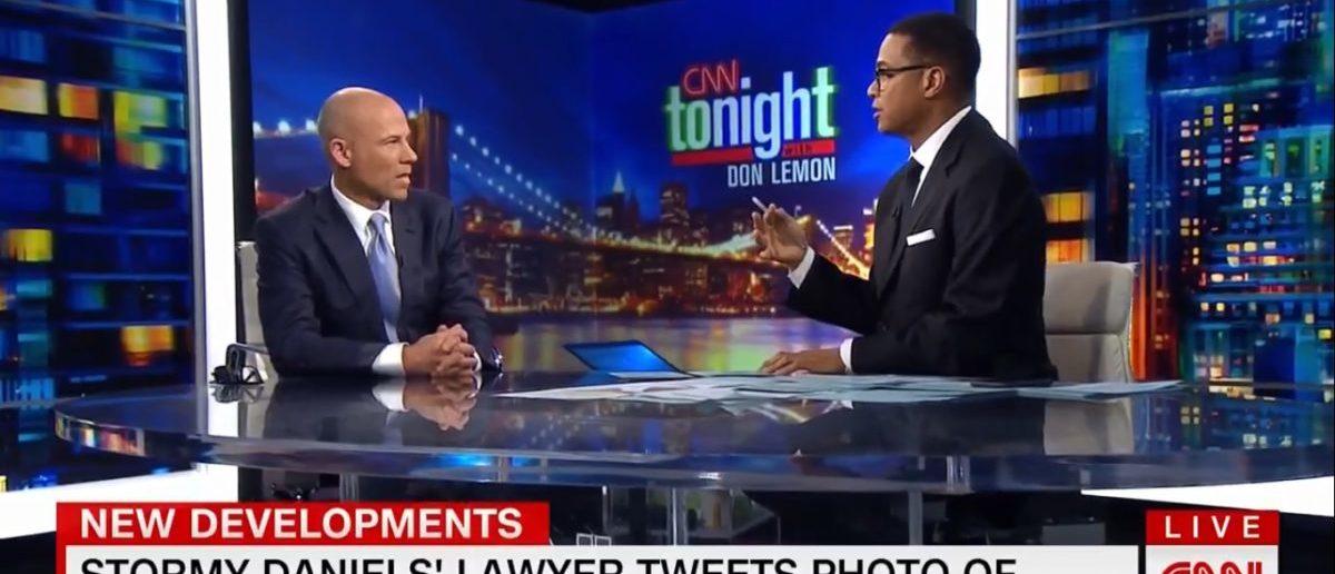 Michael Avenatti CNN_05-14-2018 Don Lemon - Lawsuit Against The Daily Caller News Foundation