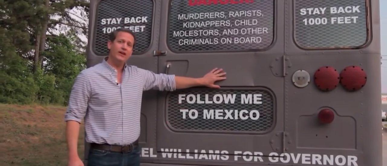 Michael Williams Deportation Bus Tour (Photo: Michael Williams/YouTube)