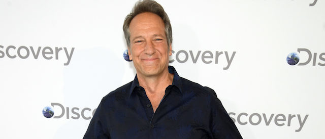 NEW YORK, NY - APRIL 10: Mike Rowe attends the Discovery Upfront 2018 at the Alice Tully Hall at Lincoln Center on April 10, 2018 in New York City. (Photo by Dimitrios Kambouris/Getty Images for Discovery)