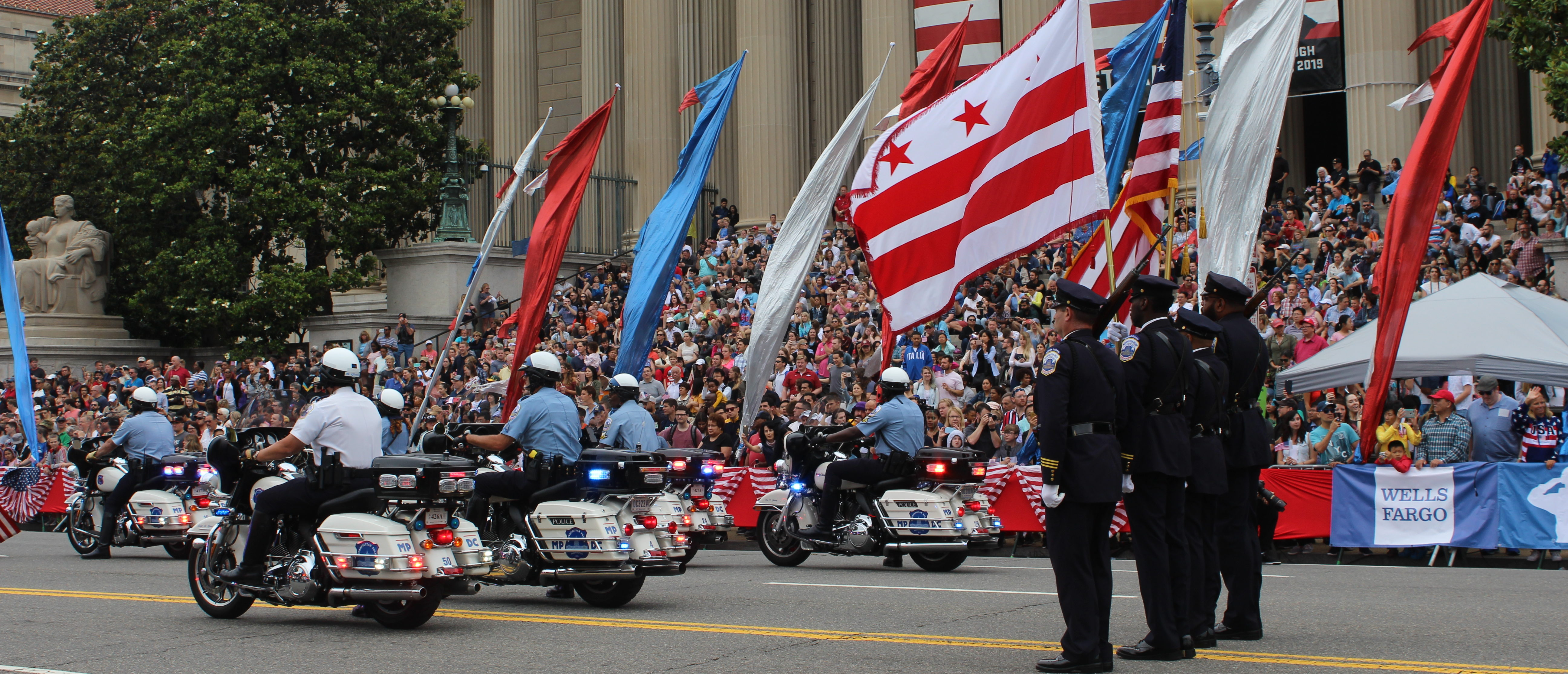 A scene at the 2018 National Memorial Day Parade in Washington, D.C. (Julia Nista/The Daily Caller)