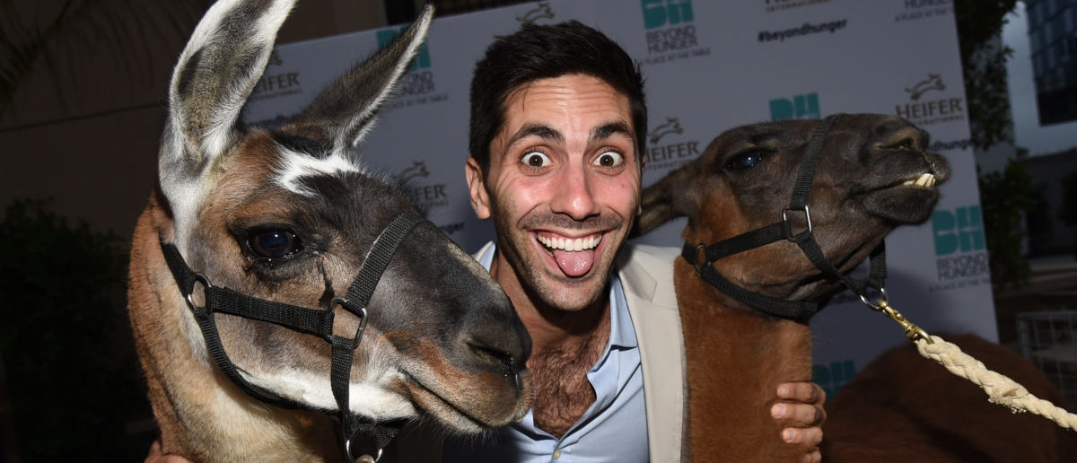 """BEVERLY HILLS, CA - AUGUST 22: Producer Nev Schulman attends Heifer International's 3rd Annual """"Beyond Hunger: A Place At The Table"""" Gala at Montage Beverly Hills on August 22, 2014 in Beverly Hills, California. (Photo by Michael Buckner/Getty Images for Heifer International)"""