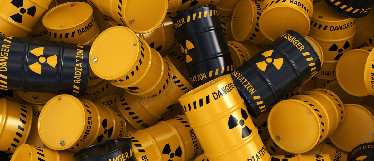 The House of Representatives passed legislation Thursday to set up a national repository for nuclear waste at Yucca Mountain in Nevada.(Shutterstock/Aleksandr Petrunovskyi)