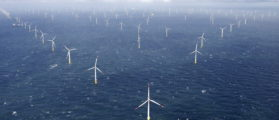Power-generating windmill turbines are pictured at the 'Amrumbank West' offshore windpark in the northern sea near the island of Amrum, Germany September 4, 2015. REUTERS/Morris Mac Matzen   Anti-Oil Drilling States Want Wind Farms
