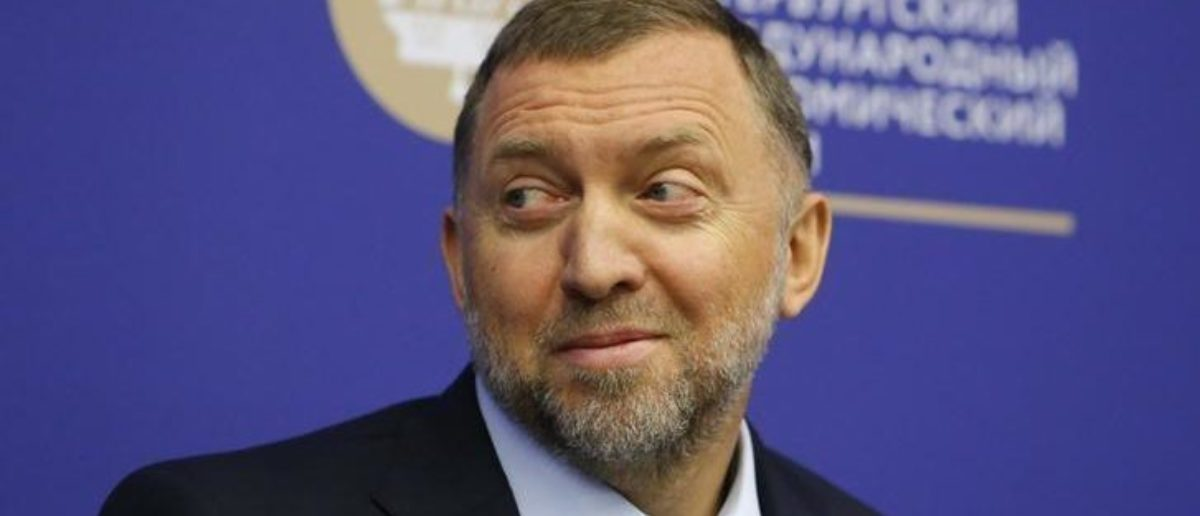 Russian tycoon Oleg Deripaska attends a session of the St. Petersburg International Economic Forum (SPIEF), Russia, June 1, 2017. REUTERS/Sergei Karpukhin   Russian Oligarch In 2016: No Collusion