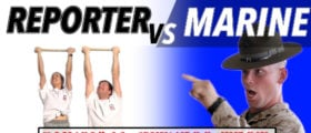 PFT Marine Vs. Reporter (The Daily Caller)