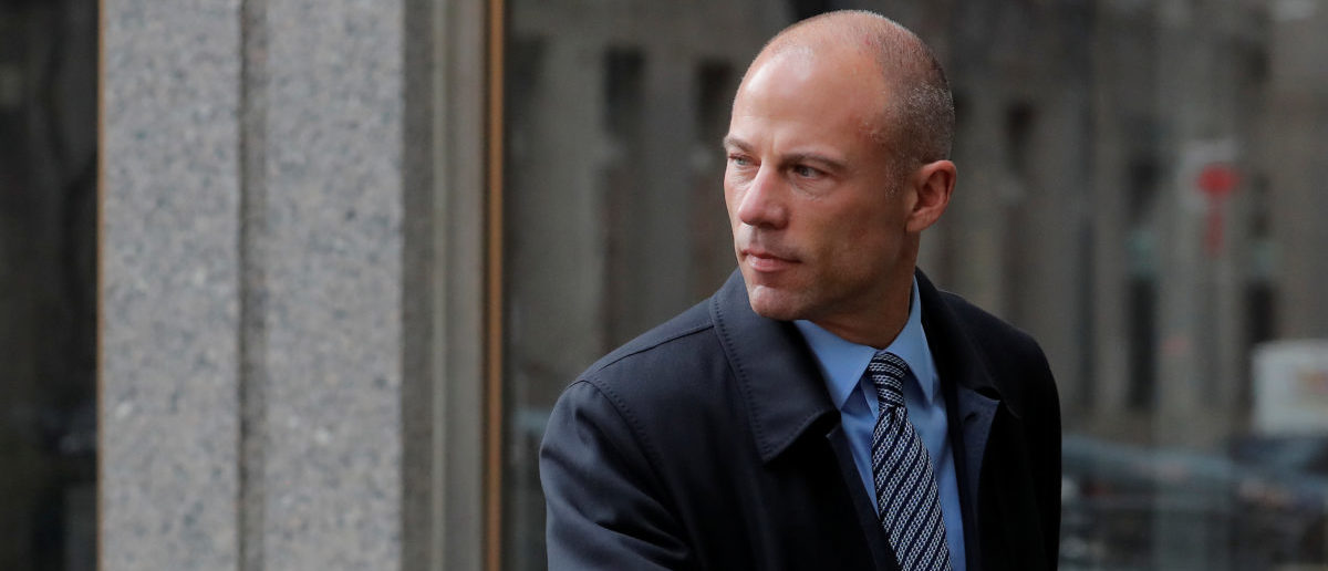 Attorney for Stormy Daniels, Michael Avenatti arrives at federal court in the Manhattan borough of New York City, New York, U.S., April 16, 2018. REUTERS/Lucas Jackson