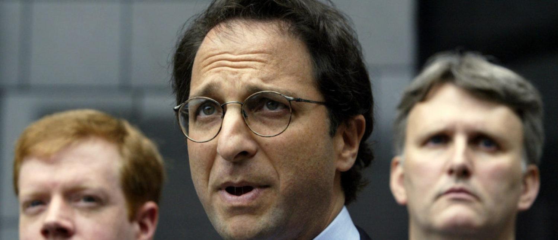Federal prosecutor Andrew Weissmann speaks to the press REUTERS/Jeff Mitchell