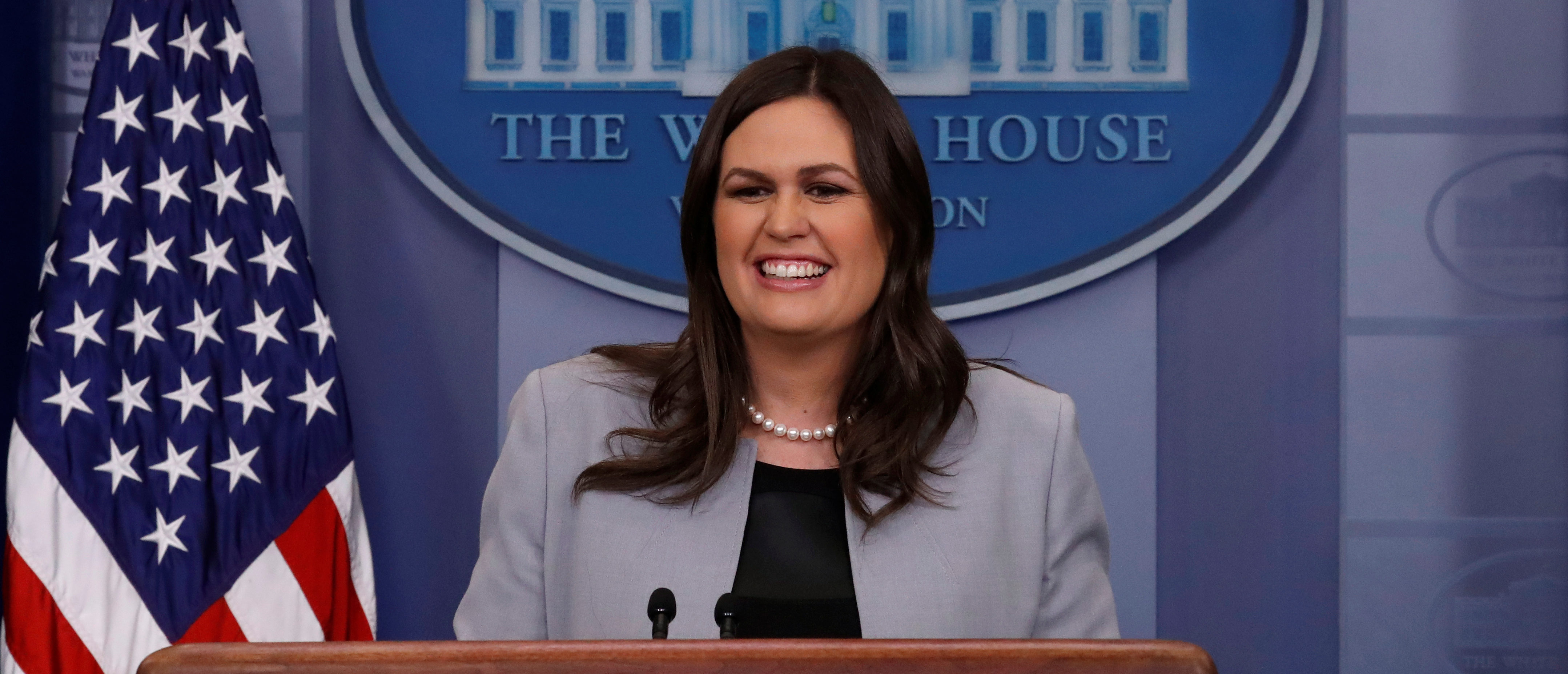 'I Love My Job' — Sarah Sanders Slams Reports Of Her Leaving The WH