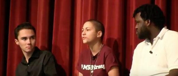 Gun control activist Emma Gonzalez goes on rant about AR-15s. Raw Story Youtube screenshot