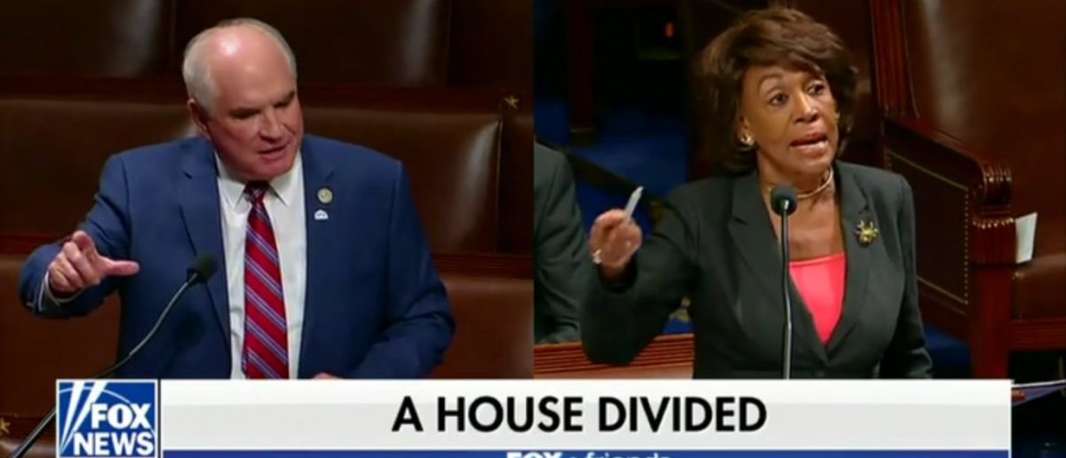 """Republican Rep. Mike Kelly of Pennsylvania went on """"Fox & Friends"""" Monday to discuss his fiery debate with Democratic Rep. Maxine Waters of California about discrimination in the auto industry. (Screenshot/ Fox News/ Fox & Friends 5-14-18)"""