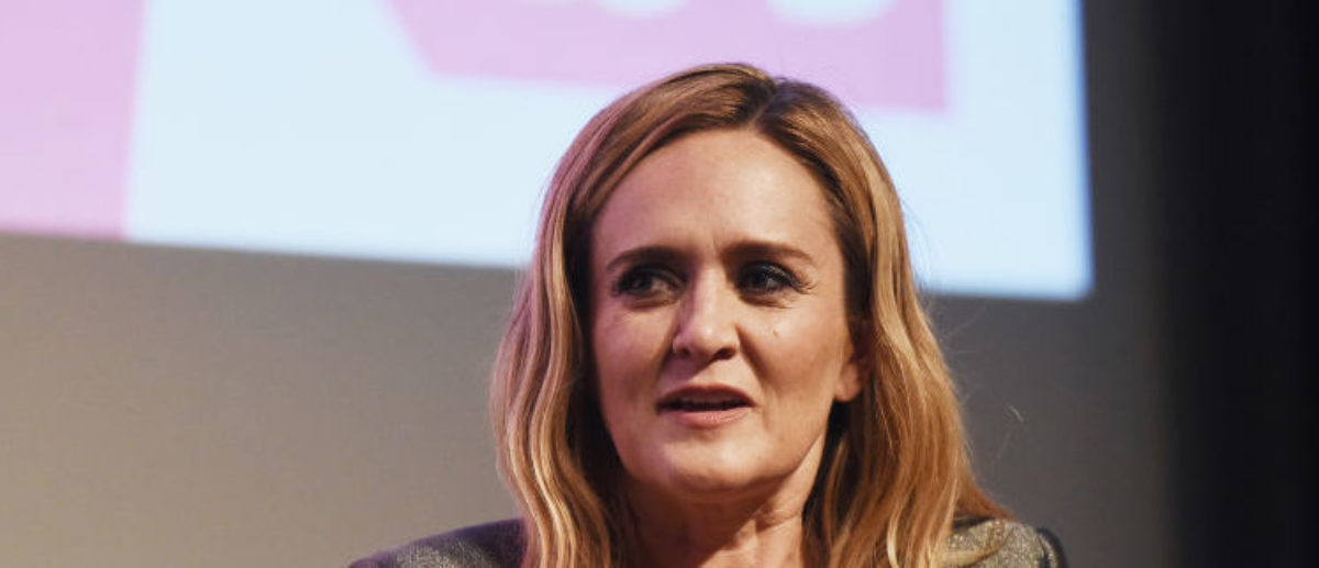 """BEVERLY HILLS, CA - MAY 24: Political commentator Samantha Bee attends TBS' """"Full Frontal With Samantha Bee"""" FYC Event at the Writers Guild Theater on May 24, 2018 in Beverly Hills, California. (Photo by Amanda Edwards/Getty Images,,) 