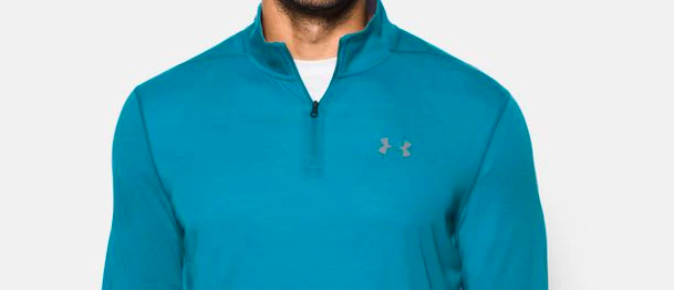 Normally $45, this quarter-zip is a total of 52 percent off with the code (Photo via UA)