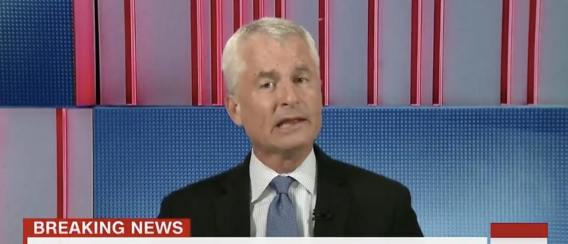 Philip Mudd, former CIA official, screen capture from Twitter video