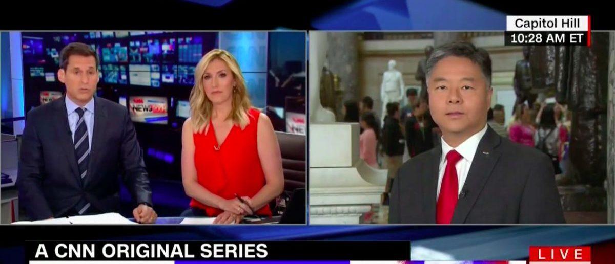 Screen Shot Rep. Ted Lieu (CNN: May 10, 2018)