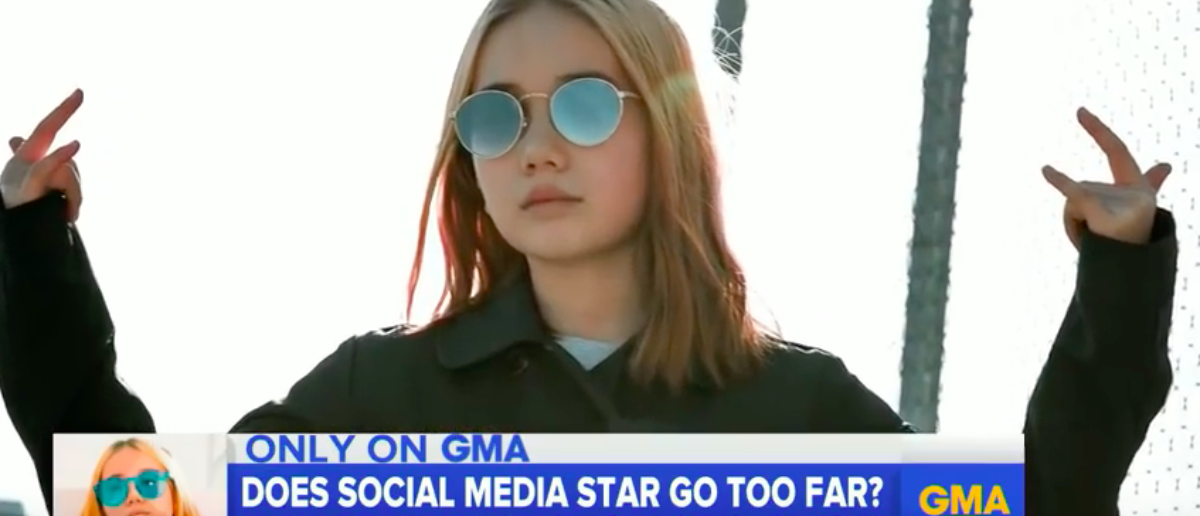 Who's behind the internet's 'youngest flexer,' 9-year-old 'Lil Tay'? (YouTube: Good Morning America Published on May 23, 2018)