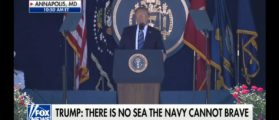 Naval Academy Grads Cheer Trump: 'America Is Back'
