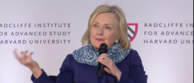 Clinton Rails Against Electoral College In Harvard Speech