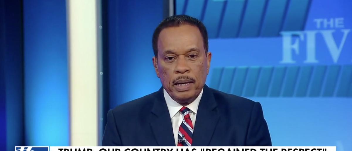 Juan Williams Knocks Trump's USNA Speech (Fox News: May 25, 2018)