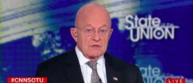 Clapper Answers Why Trump Campaign Wasn't Alerted To Russian Effort