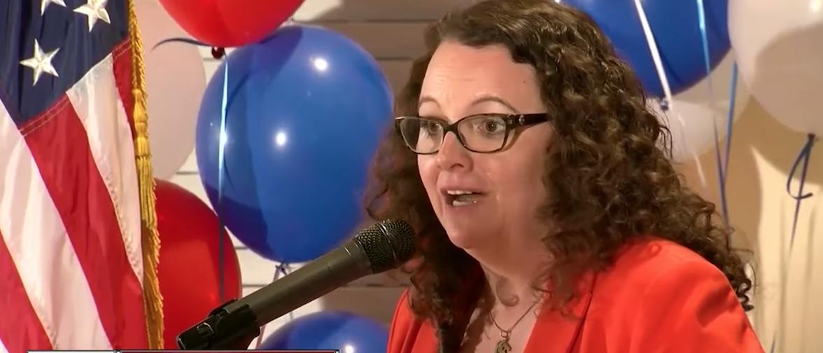 Screen Shot:Kara Eastman:Youtube | Far-Left Progressive Win Nebraska Primary