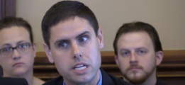Iowa Democratic state Sen. Nate Boulton announced he would suspend his campaign for governor Thursday after being accused of sexual misconduct from multiple women. (Photo: Screen Shot: Nate Boulton:Youtube:Iowa State Senate)