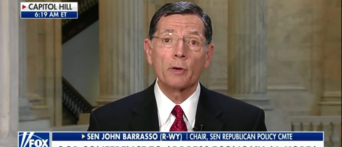 Senator John Barrasso Predicts Big Gains For GOP In November If Trump Keeps Beating The Drum On Booming Economy - Fox & Friends 5-15-18