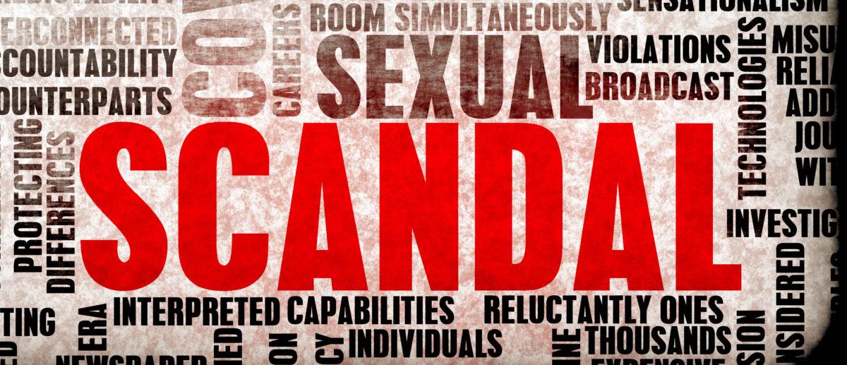 Sexual Scandal printed  e