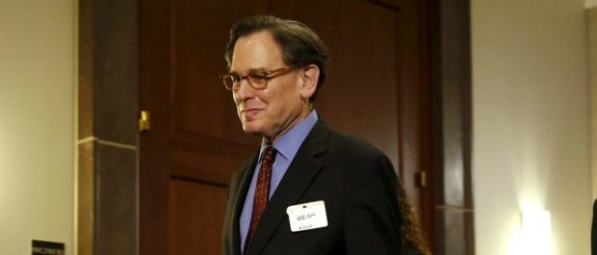 Sidney Blumenthal arrives to be deposed by House Select Committee on Benghazi, June 16, 2015. (Jonathan Ernst/REUTERS)