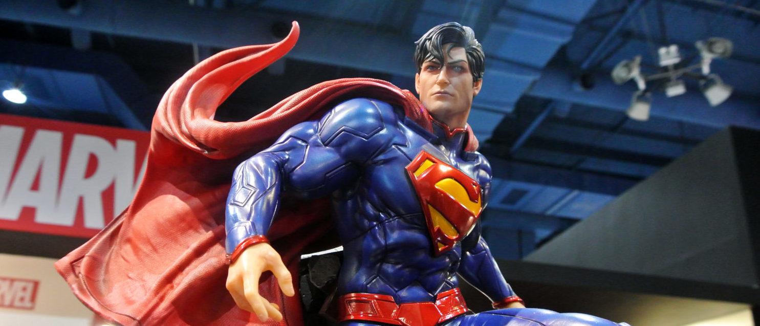 Superman Statue (Shutterstock/ Aisyaqilumaranas) | FBI Redacts Superman From FOIA Report