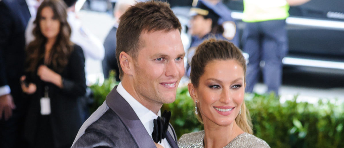 Giselle Bundchen and Tom Brady attend the 2017 Metropolitan Museum of Art Costume Institute Gala at the Metropolitan Museum of Art in New York, NY on May 1st, 2017 (SHUTTERSTOCK: By Sky Cinema)