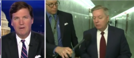 Tucker Hammers Lindsey Graham For 'Lying' About Confidential Informant Not Being A Spy