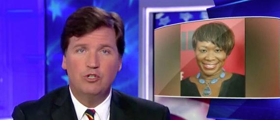 Tucker Carlson exposes Joy Reids old blog posts. Fox News screenshot