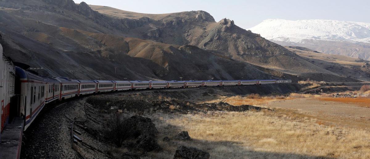 The Eastern Express travels through Erzincan province en route from Ankara to Kars, Turkey, February 7, 2018. REUTERS/Umit Bektas | Enviros Try To Stifle Major Rail Project