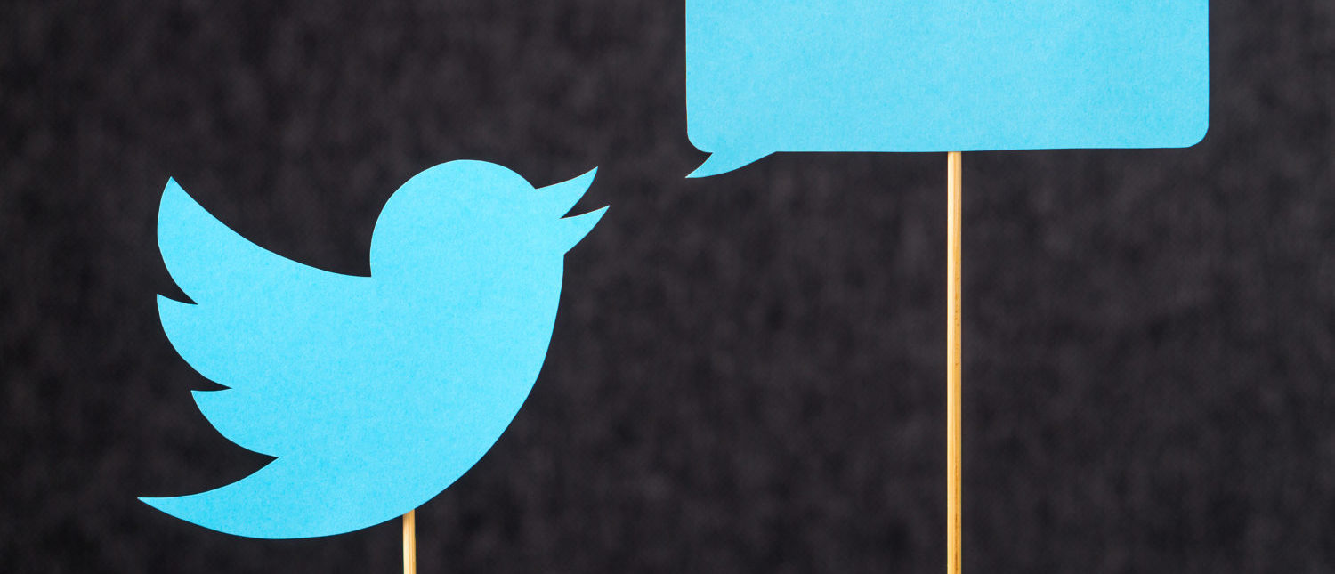 A blue bird depicting the Twitter logo. [Shutterstock - Tero Vesalainen]