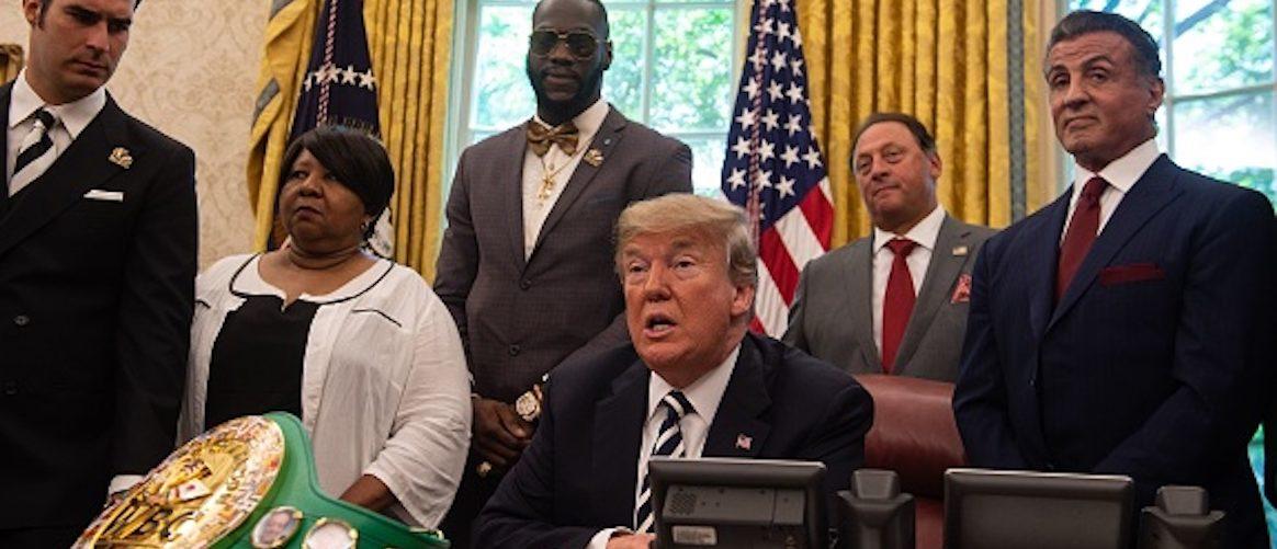 'Racist' Trump Pardons First Black Heavyweight Boxing Champion