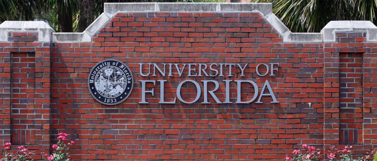 University of Florida wall (Shutterstock/Katherine Welles)