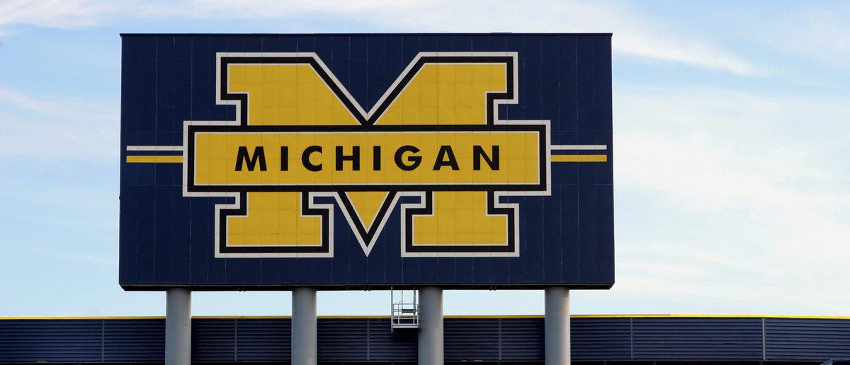 University of Michigan football stadium. (Shutterstock/Steve Pepple) | U Mich. Investigates Clubs Excluding Men