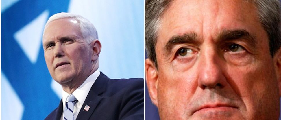 Vice President Mike Pence-Special Counsel Robert Mueller Via. Getty Images
