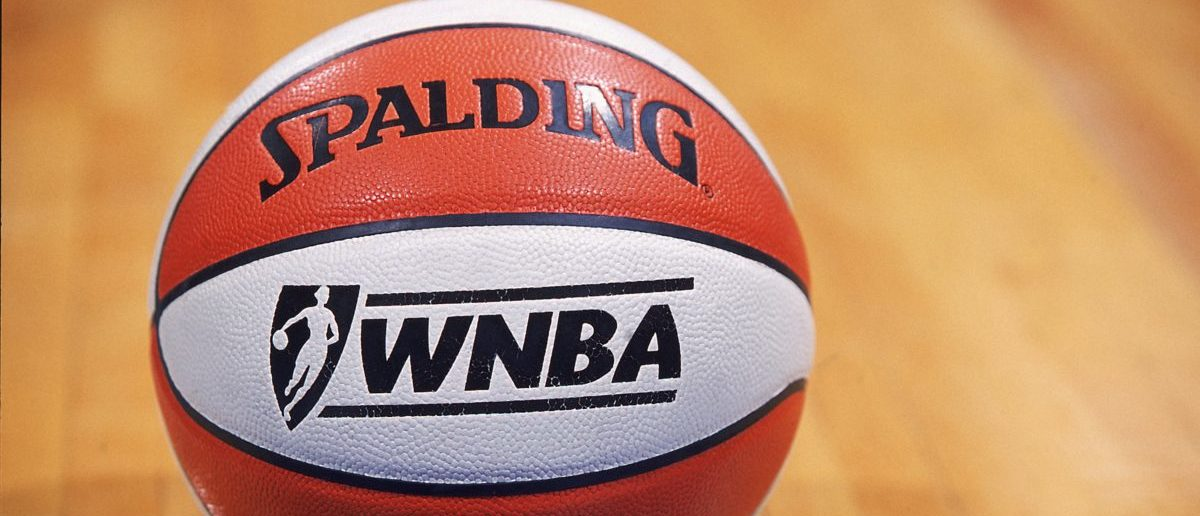 5 Jun 2001: A shot of the WNBA Basket Ball during the game between the Washington Mystics and the Sacramento Monarchs at the MCI Center in Washington, D.C. The Mystics defeated the Monarchs 75-72. NOTE TO USER: It is expressly understood that the only rights Allsport are offering to license in this Photograph are one-time, non-exclusive editorial rights. No advertising or commercial uses of any kind may be made of Allsport photos. User acknowledges that it is aware that Allsport is an editorial sports agency and that NO RELEASES OF ANY TYPE ARE OBTAINED from the subjects contained in the photographs. (Mandatory Credit: Doug Pensinger /Allsport/ Getty Images)