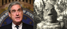 Robert Mueller IS The Creature From The Black Lagoon