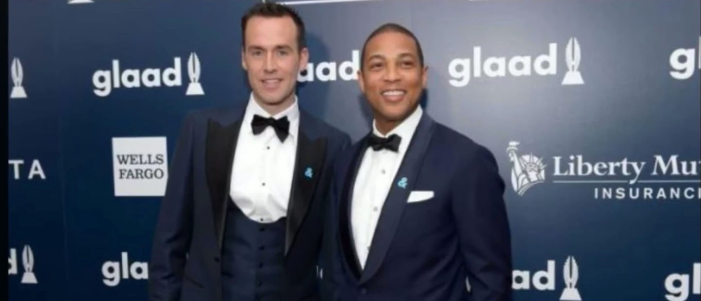 Don Lemon and Tim Malone at the 28th Annual GLAAD Media Awards in 2017. (Credit: Youtube/Screenshot/Tan Nguyen)