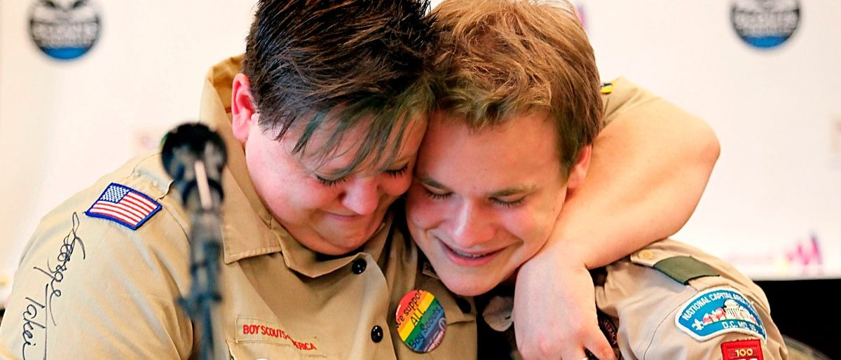 gay Boy Scouts Getty Images/Stewart House