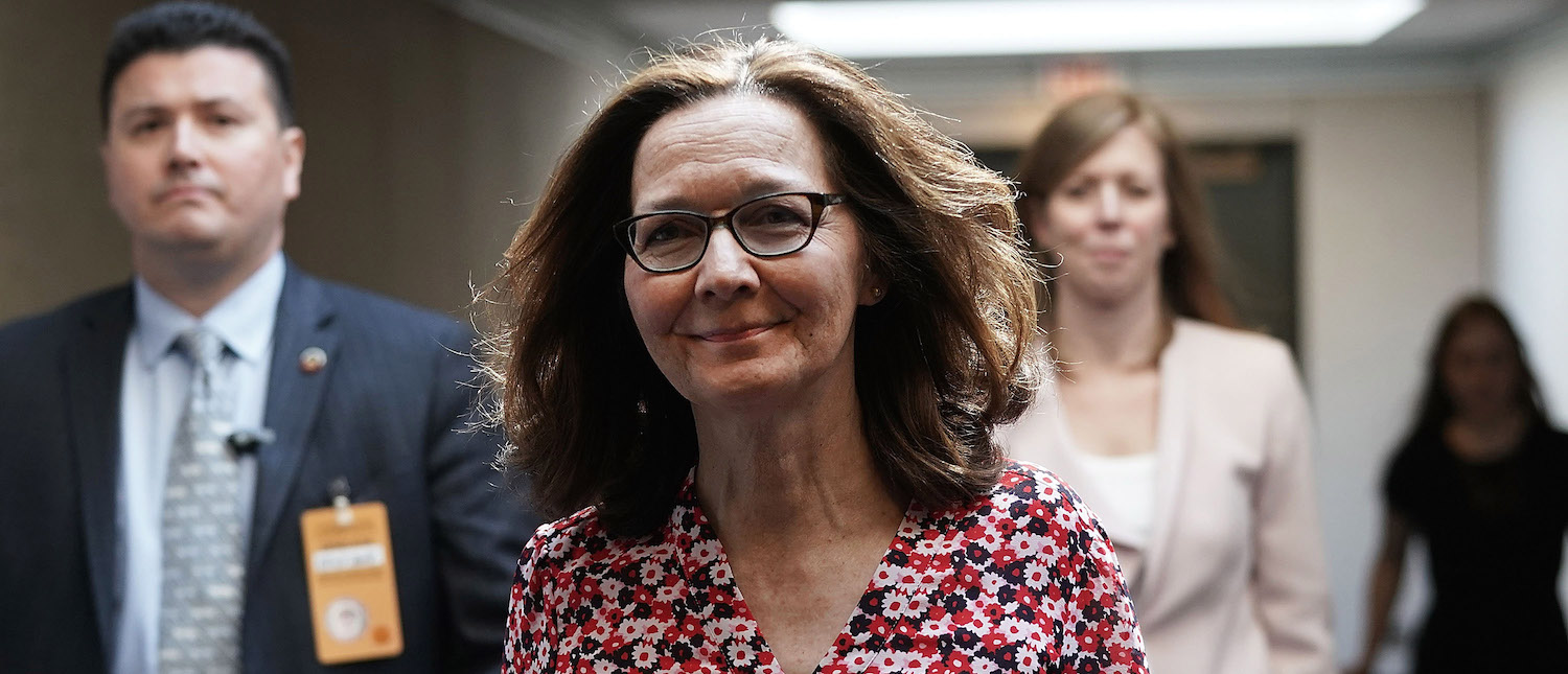 Gina Haspel, nominee to be director of the CIA, visits the Hart Senate Office Building for meetings with senators May 7, 2018 (Photo: Alex Wong/Getty Images)