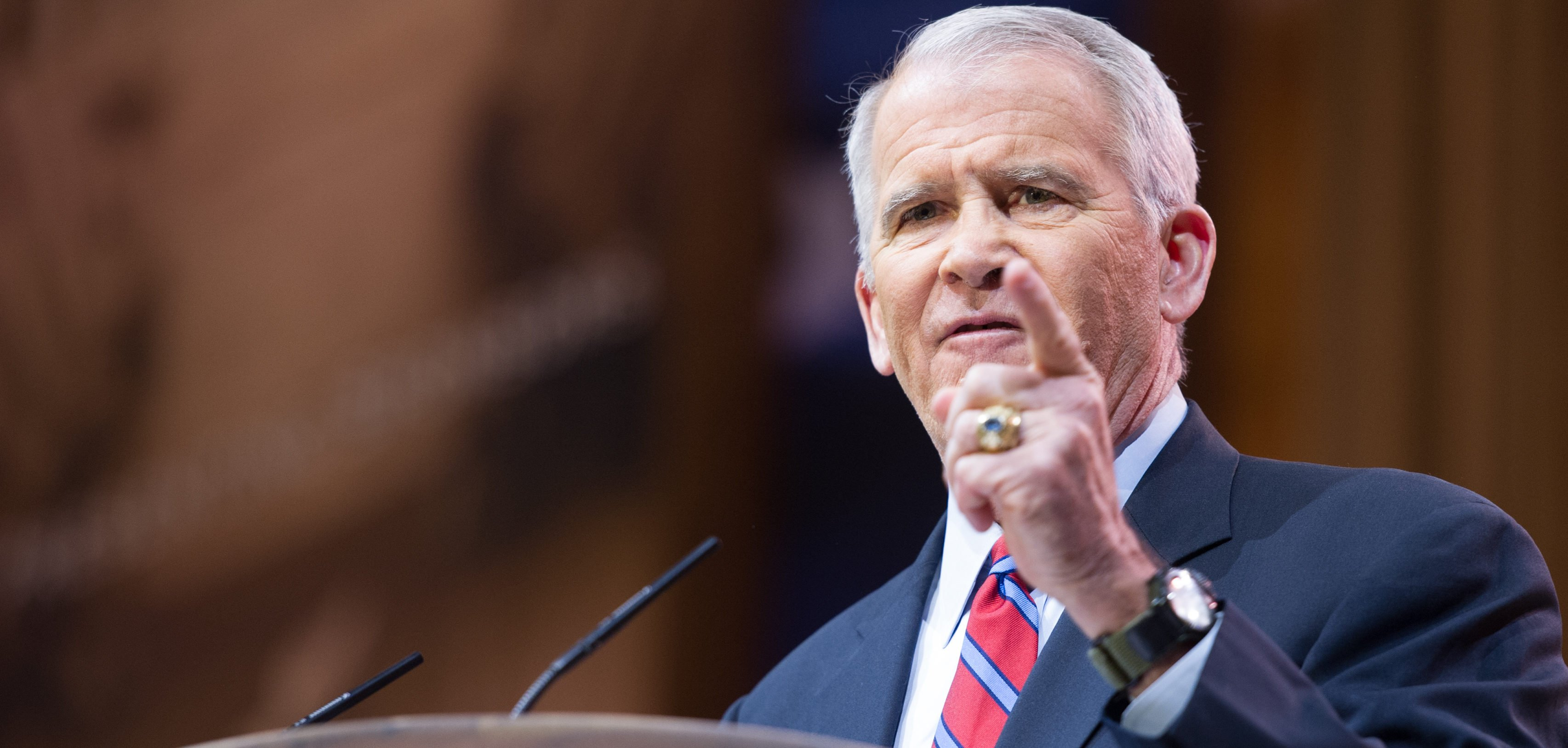 Oliver North Defiantly Vows To Grow Nra Punches Back