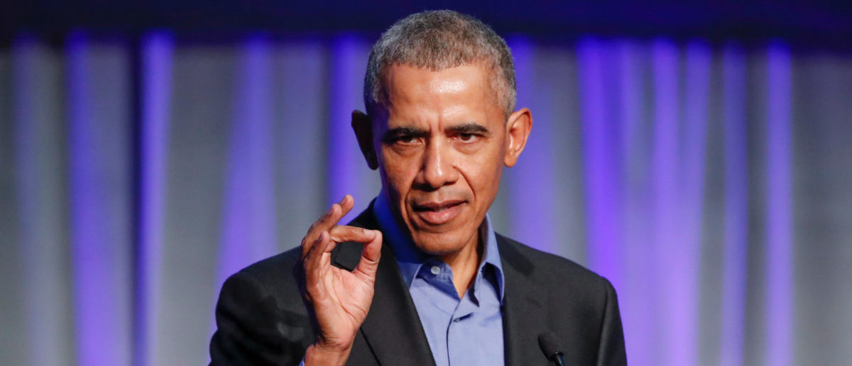 Former U.S. President Barack Obama speaks during the North American Climate Summit in Chicago, Illinois, U.S., December 5, 2017. REUTERS/Kamil Krzaczynski